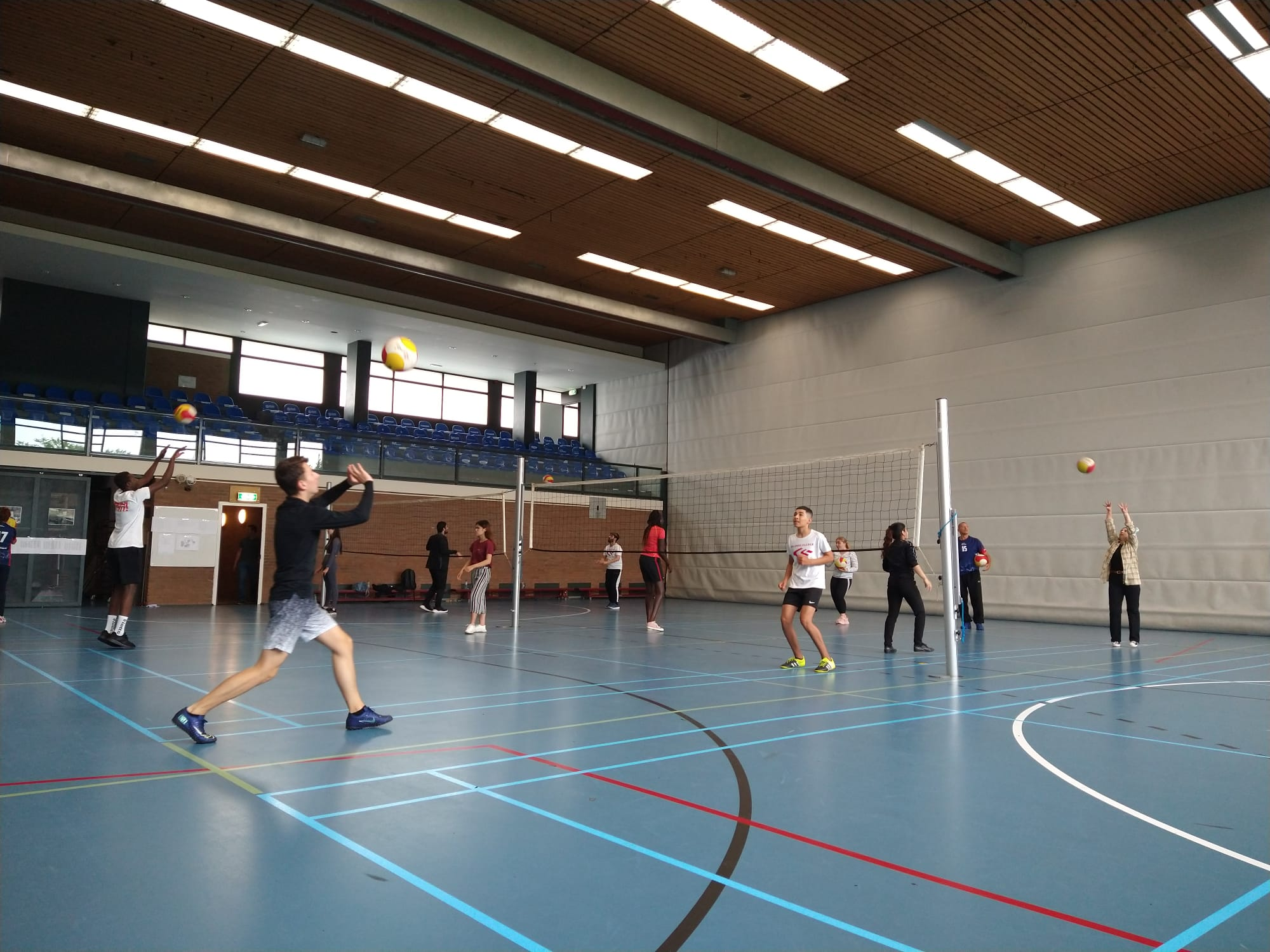 Clinics sportdag Internationale Schakelklas